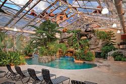 Crystal Resort  indoors garden