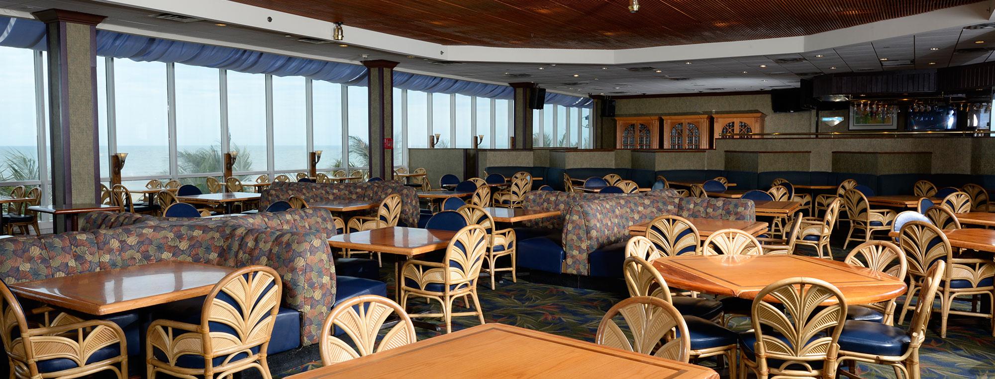 Anchor Restaurant inside look Ocean City Work and Travel IECenter