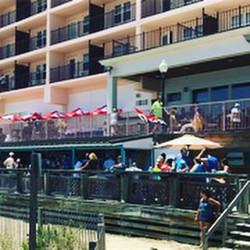 Dunes Manor Restaurantfront Work and Tra
