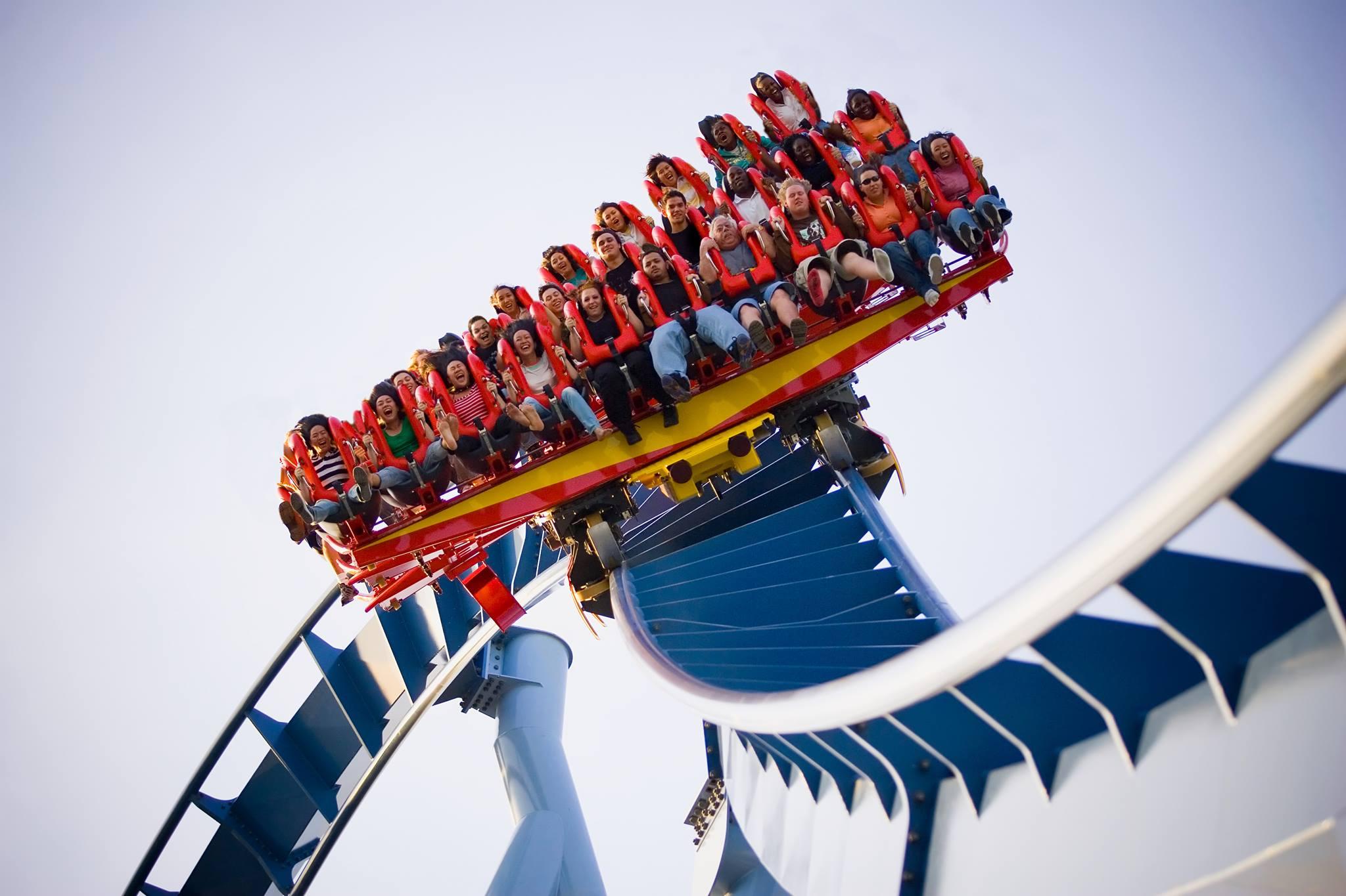 Busch Gardens Roller Coaster 2 Work and