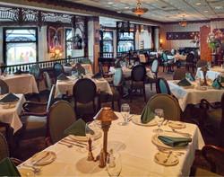 Victorias Restaurant dining tables Work