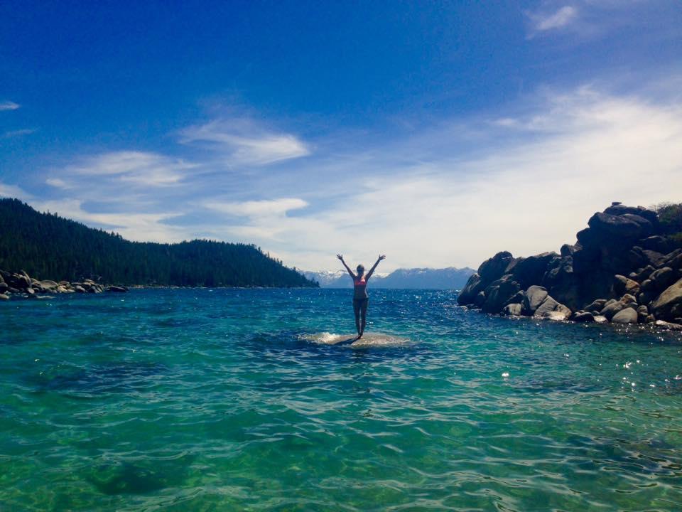 Anna w Lake Tahoe