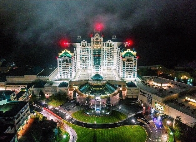 Foxwoods nightview work and travel IECenter