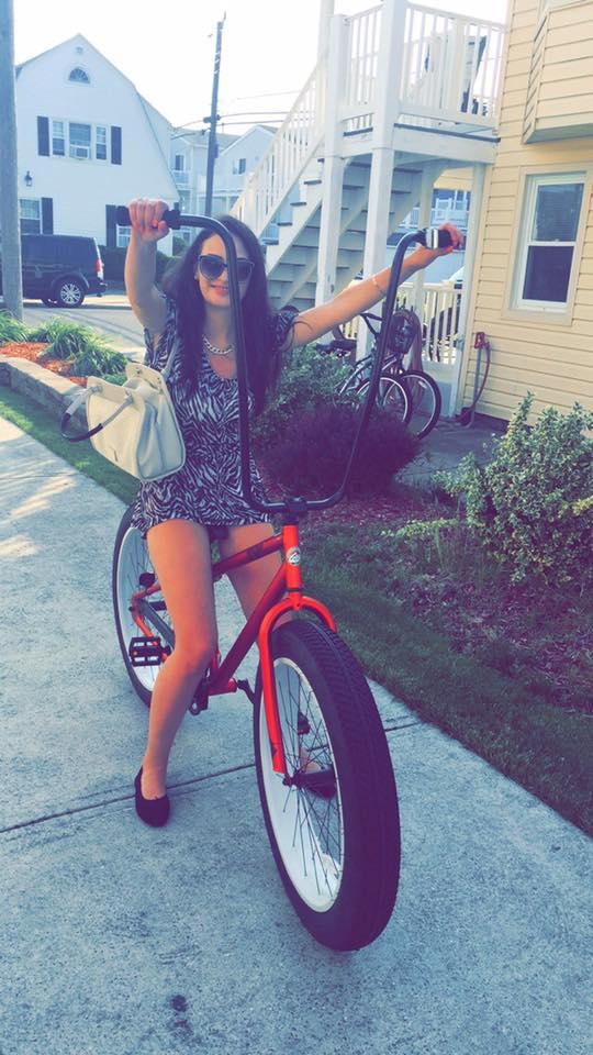 Ewa na rowerze