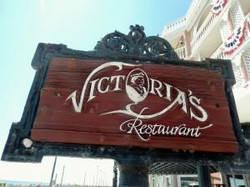 Victorias Restaurant Sign Work and Trave