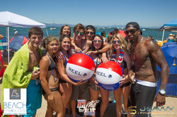 Beach Retreat crew Work and Travel IECenter