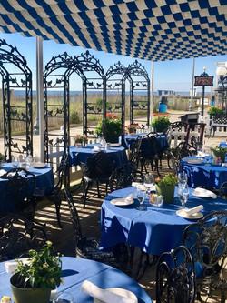 Victorias Restaurant garden Work and Tra
