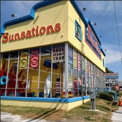 Sunsations Ocean City outside look Work and Travel IECenter