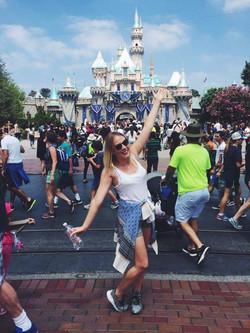 Ola w Disneylandzie