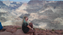 Ida nad Wielkim Kanionem