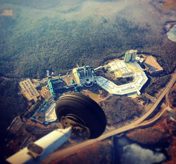 Foxwoods from airplane work and travel IECenter