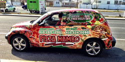 Pizza Mambo Delivery Car Work and Travel IECenter