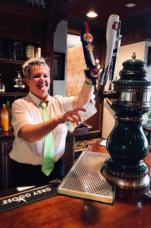 Victorias Restaurant Bartender Work and