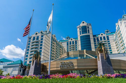 Foxwoods entrance work and travel IECenter