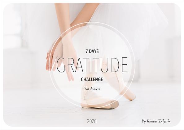 7 Days Gratitude Challenge for Dancers
