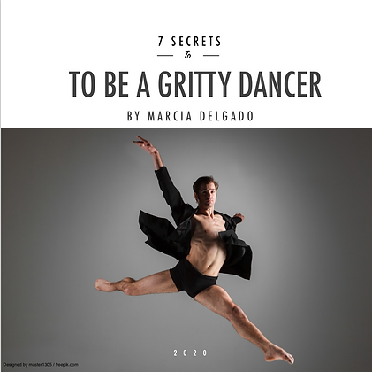 7 Secrets to be a Gritty Dancer - Male