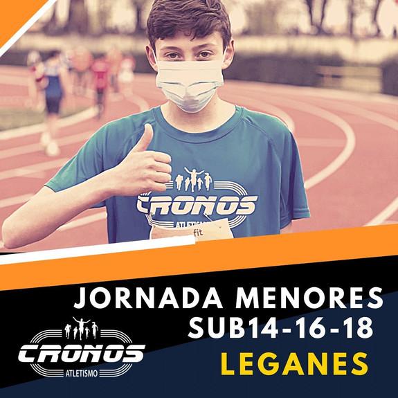 JORNADA DE MENORES LEGANES