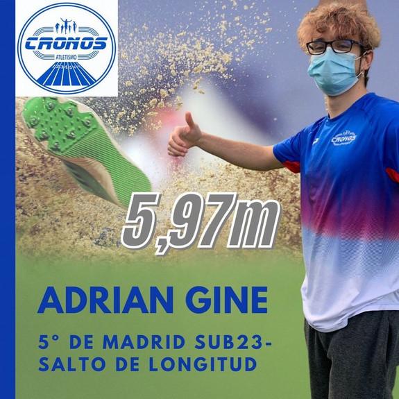 ADRIAN GINE 5º MADRID SUB 23