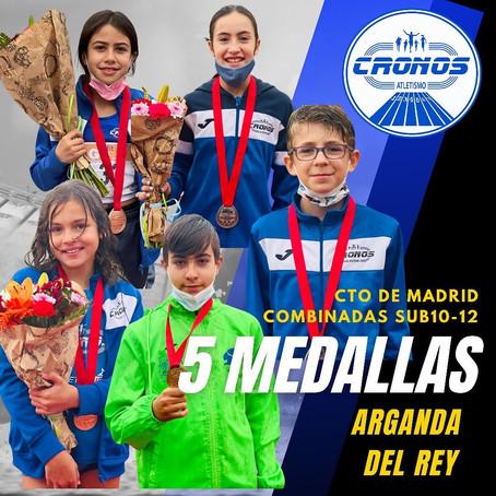CRONOS ASALTA EL CTO DE MADRID DE COMBINADAS SUB10-12