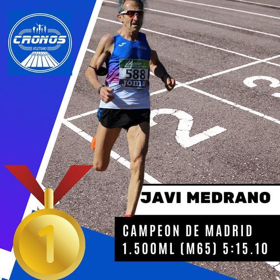 JAVI MEDRANO CAMPEÓN DE MADRID 1500ML
