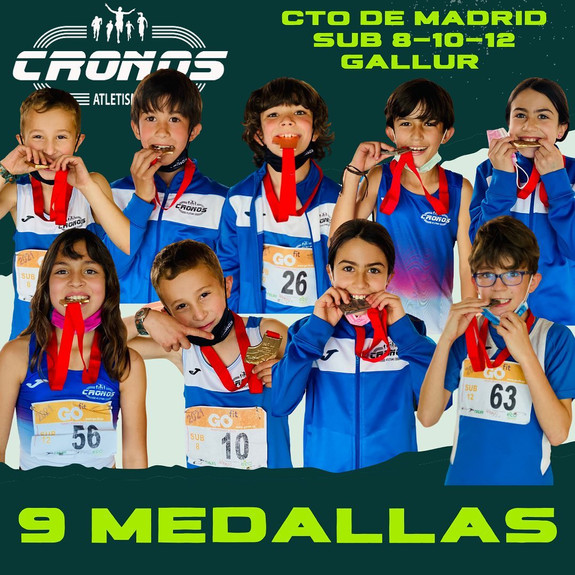 BORRACHERA DE MEDALLAS