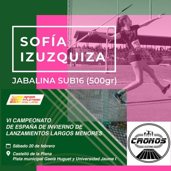 Cto de España lanzamientos largos- Jabalina