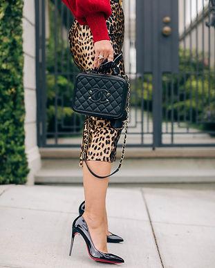 Chanel Loubinton Leopard Print Skirt.jpg
