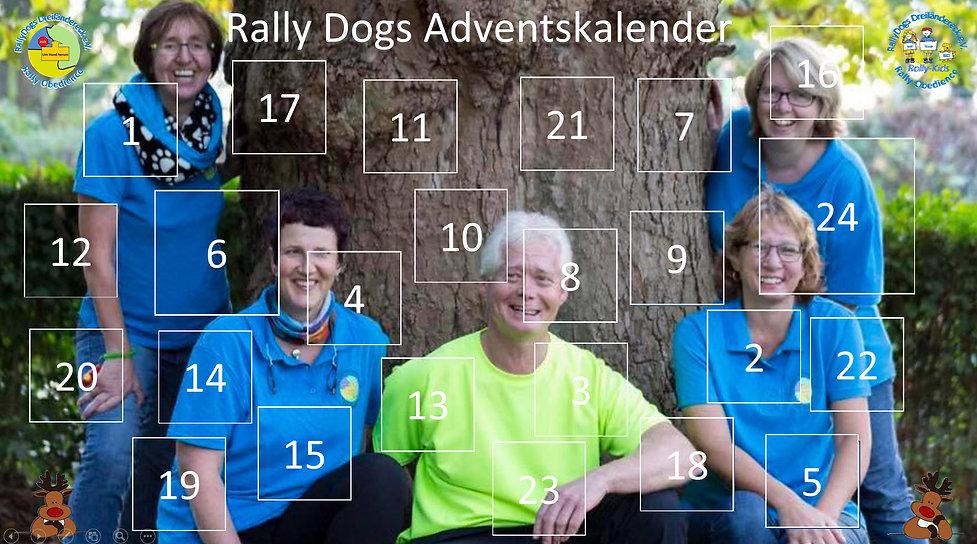 Rally Dogs Adventskalender