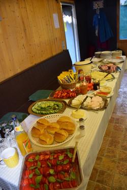 Frühstück im Überfluss