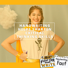 Join BIC's Campaign to Promote Handwriting!