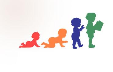 child development silhouettes