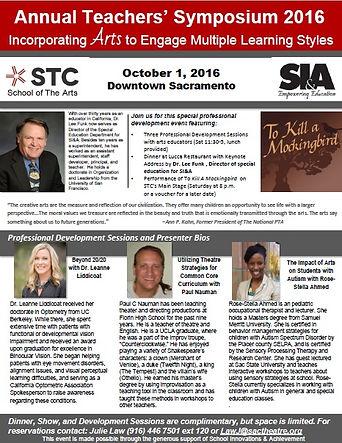 Rose-Stella Ahmed Autism workshop sacramento theatre company