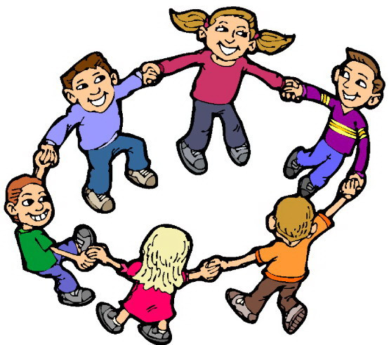 Children playing ring around rosie by Mr. Jorge Cruz