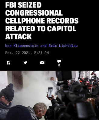 FBI Seized Congressional Phone Records From Jan. 6, Dems Trying to Block Them