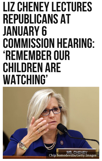 Liz Cheney Lectures Republicans at January 6 Commission Hearing: Remember Our Children Are Watching