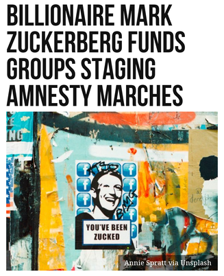 Billionaire Mark Zuckerberg Funds Groups Staging Amnesty Marches