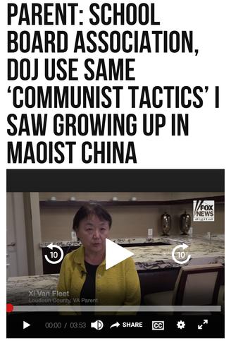 Parent: School Board Association, DOJ Use Same 'Communist Tactics' I Saw Growing Up in Maoist China