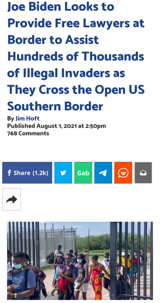 Biden Looks to Provide Free Lawyers at Border to Assist Hundreds of Thousands of Illegal Invaders
