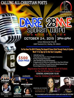 Gospel Spoken Word Competition less than a month away see you there