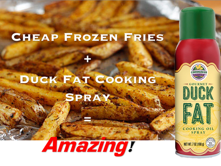 Duck Fat Cooking Spray - An Omaha Product