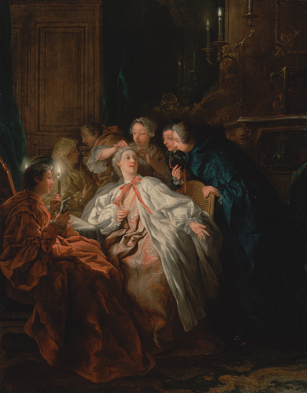 Before the Ball by Jean François de Troy, 1735