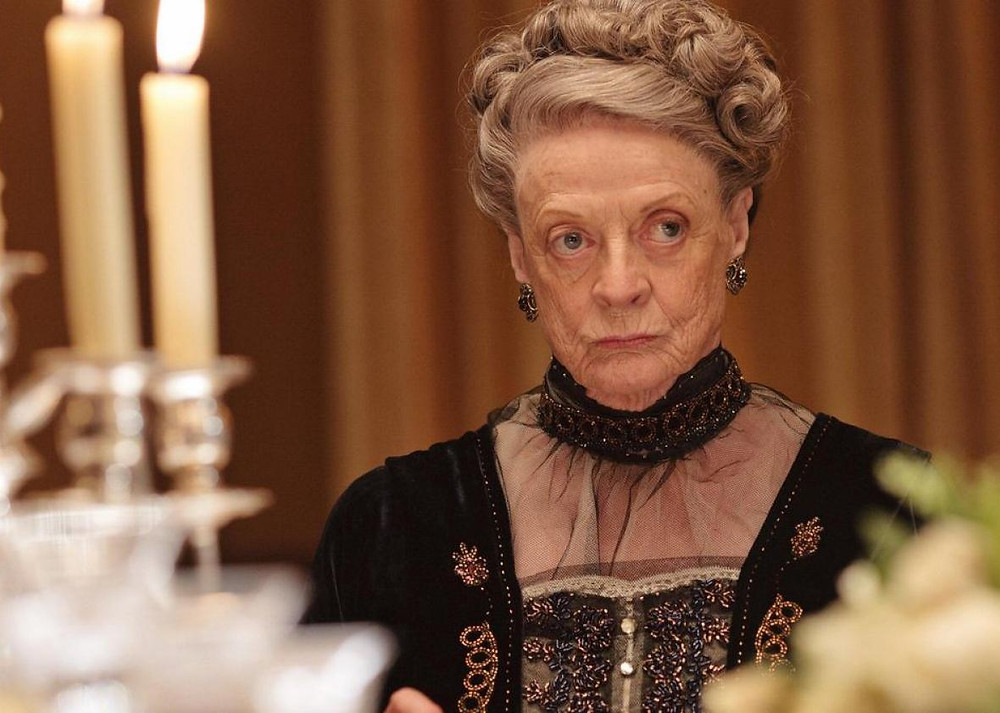 Maggie Smith as Violet Crawley, Dowager Countess of Grantham, Downton Abbey