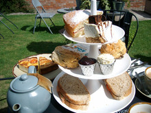 Afternoon Tea at The Running Fox