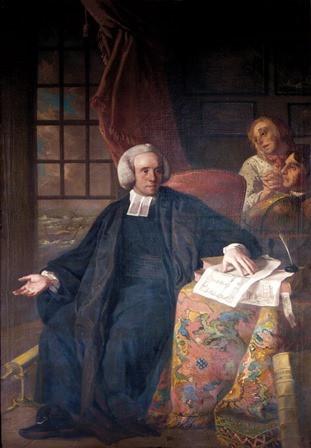 Painting of Dr. John Sharp