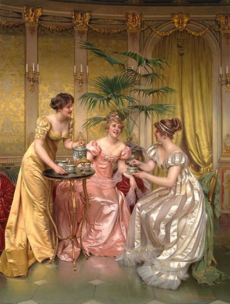 Frédéric Soulacroix: Afternoon Tea for Three