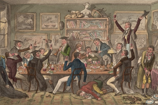 Oxford Transports or Albanians doing Penance for Past Offences by Robert Cruikshank