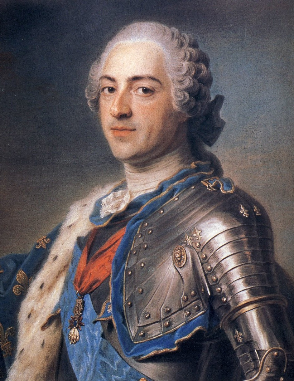 Painting of King Louis XV