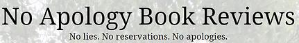 No Apology Book Reviews Logo