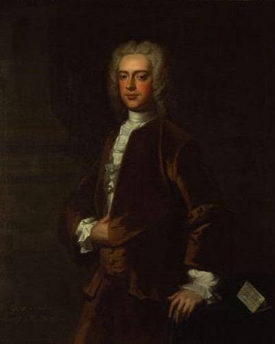 Painting of a baronet