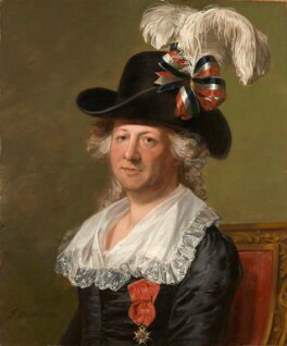 Painting of Chevalier d'Eon by Thomas Stewart, 1792